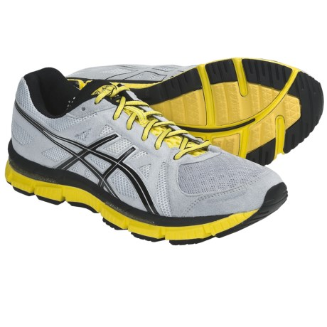 Asics GEL-Neo33 Running Shoes (For Men) in Platinum/Black/Yellow