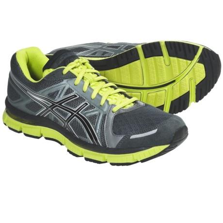 Asics GEL-Neo33 Running Shoes (For Men) in Titanium/Black/Lime