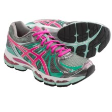Asics Gel Nimbus 15 Running Shoes (For Women) in Titanium/Hot Pink/Mi - Closeouts