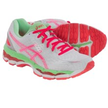 ASICS GEL-Nimbus 17 Running Shoes (For Women) in White/Hot Coral/Apple - Closeouts