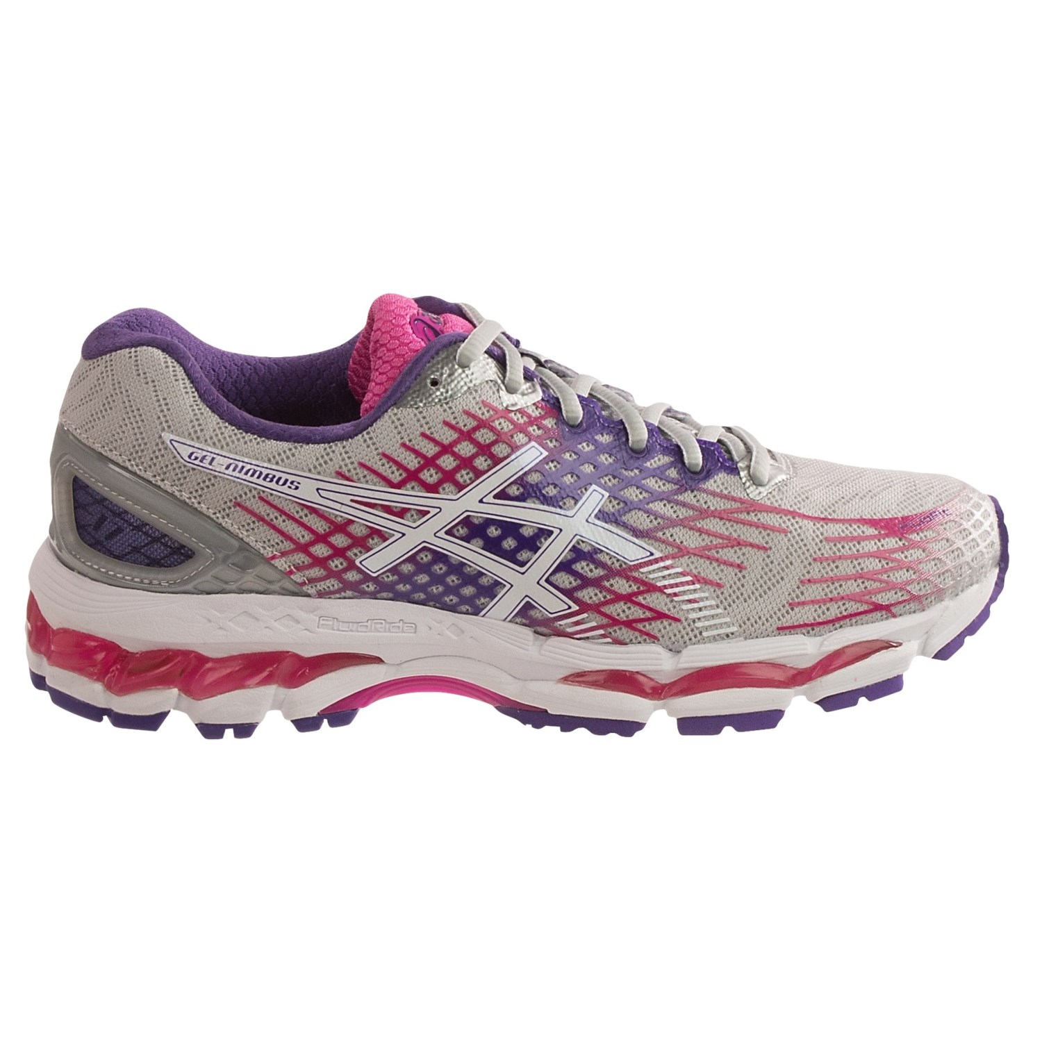 asics gel nimbus 17 running shoes for women save 20. Black Bedroom Furniture Sets. Home Design Ideas