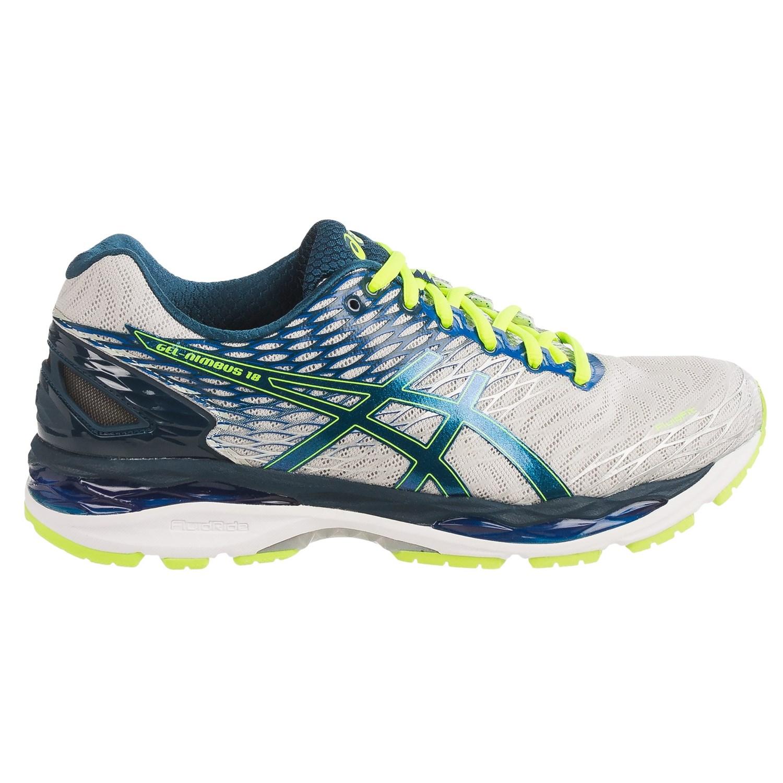 asics gel nimbus 18 running shoes for save 40