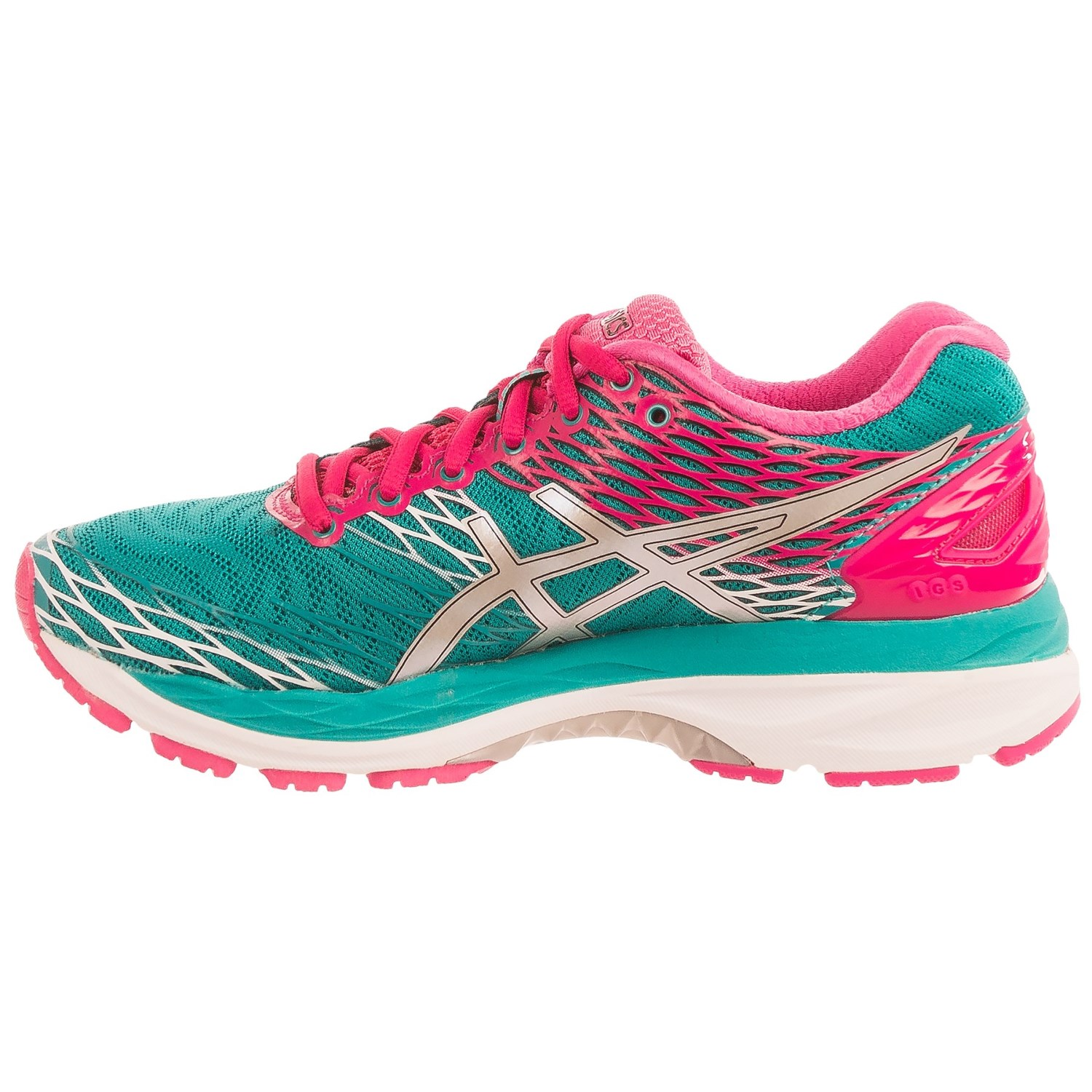 asics gel nimbus 18 running shoes for women save 58. Black Bedroom Furniture Sets. Home Design Ideas