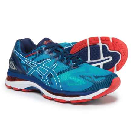 ASICS GEL-Nimbus 19 Running Shoes (For Men) in Diva Blue/White/Indigo Blue - Closeouts
