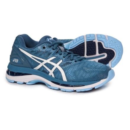 142f3731fa ASICS GEL-Nimbus 20 Running Shoes (For Women) in Azure White -
