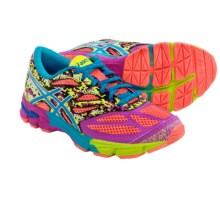 ASICS GEL-Noosa Tri 10 Running Shoes (For Little and Big Kids) in Coral/Turquoise/Pink Glow - Closeouts