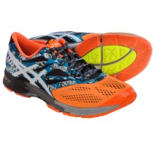 ASICS GEL-Noosa Tri 10 Running Shoes (For Men) in Onyx/White/Flash Orange - Closeouts