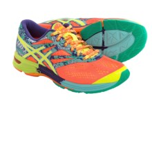 ASICS GEL-Noosa Tri 10 Running Shoes (For Women) in Flash Coral/Flash Yellow/Ice Blue - Closeouts