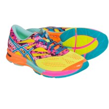 ASICS GEL-Noosa Tri 10 Running Shoes (For Women) in Flash Yellow/Turquoise/Flash Pink - Closeouts