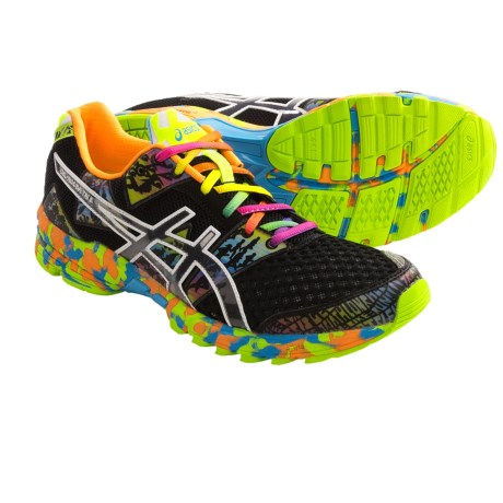 Asics GEL-Noosa Tri 8 Running Shoes (For Men) in Onyx/Black/Confetti
