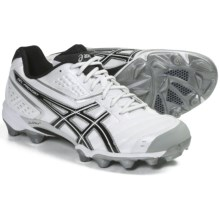 Asics GEL-Provost Low Lacrosse Shoes (For Men) in White/Black/Silver - Closeouts