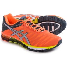 ASICS GEL-Quantum 180 Running Shoes (For Men) in Orange/Silver/Dark Slate - Closeouts