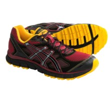 Asics GEL-Scram Trail Running Shoes (For Men) in Brick/Black/Sun - Closeouts