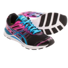 Asics GEL-Storm Running Shoes (For Women) in Black/Electic Blue/Pink - Closeouts