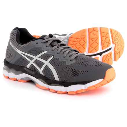 ASICS GEL-Superion Running Shoes (For Men) in Dark Grey/Silver/Hot Orange - Closeouts