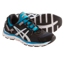 ASICS GEL-Synthesis Training Shoes (For Women) in Black/Silver/Island
