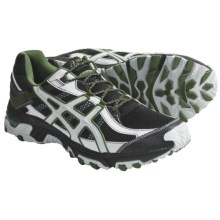 Asics GEL-Trabuco 14 Trail Running Shoes (For Men) in Black/Cement/Army - Closeouts