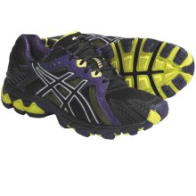 Asics GEL-Trail Sensor 5 Trail Running Shoes (For Women) in Onyx/Black/Lime - Closeouts