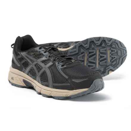 ASICS GEL-Venture 6 Trail Running Shoes (For Men) in Black/Grey/Feather Grey - Closeouts