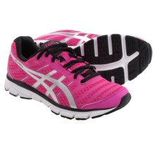 ASICS GEL-Zaraca 2 Running Shoes (For Women) in Neon Pink/Silver/Black - Closeouts