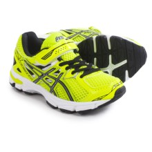 ASICS GT-1000 3 PS Running Shoes (For Little Kids) in Flash Yellow/Black/Lightning - Closeouts