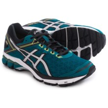 ASICS GT-1000 4 Gore-Tex® Running Shoes - Waterproof (For Men) in Mosaic Blue/Silver/Lime - Closeouts