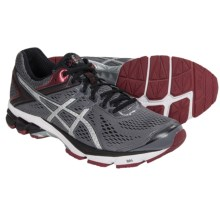 ASICS GT-1000 4 Running Shoes (For Men) in Carbon/Silver/Maroon - Closeouts