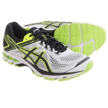 ASICS GT-1000 4 Running Shoes (For Men) in White/Onyx/Flash Yellow - Closeouts