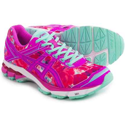 ASICS GT-1000 4 Running Shoes (For Women) in Pink Glow/Pink/Pink Ribbon - Closeouts