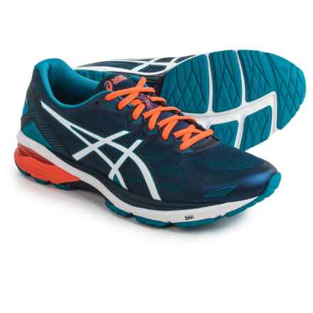 ASICS GT-1000 5 Running Shoes (For Men) in Indigo Blue/Snow/Orange - Closeouts