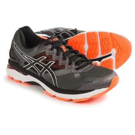 ASICS GT-2000 4 Running Shoes (For Men) in Carbon/Black/Hot Orange - Closeouts