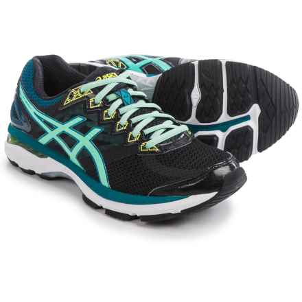 ASICS GT-2000 4 Running Shoes (For Women) in Black/Pool Blue/Flash Yellow - Closeouts