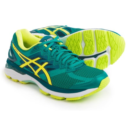 ae2bdb17e245 ASICS GT-2000 4 Running Shoes (For Women) in Lapis Safety Yellow