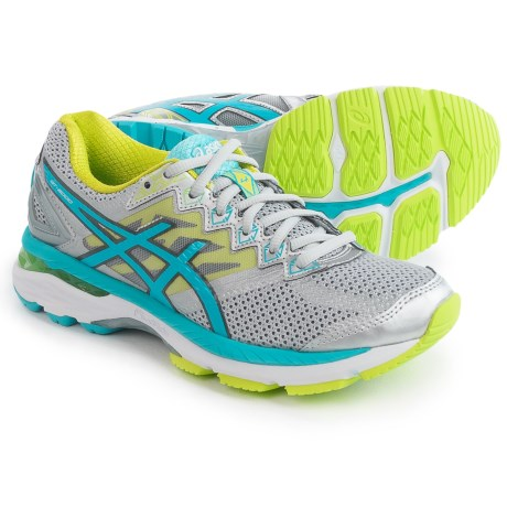 ASICS GT-2000 4 Running Shoes (For Women) in Silver/Turquoise/Lime Punch