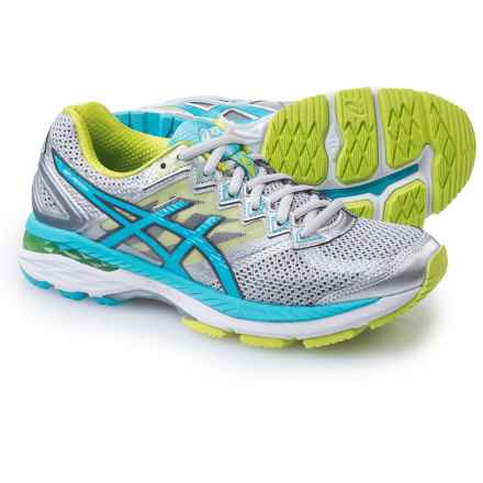 ASICS GT-2000 4 Running Shoes (For Women) in Silver/Turquoise/Lime Punch - Closeouts