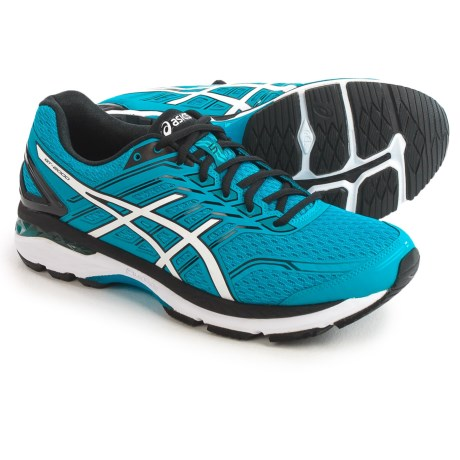 ASICS GT-2000 5 Running Shoes (For Men) in Island Blue/White/Black