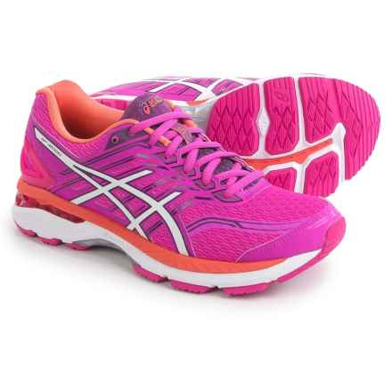 ASICS GT-2000 5 Running Shoes (For Women) in Pink Glow/White/Dark Purple - Closeouts