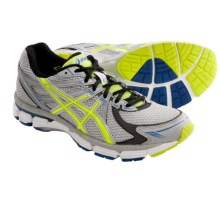 Asics GT-2000 Running Shoes (For Men) in Silver/Neon Yellow/Blue - Closeouts