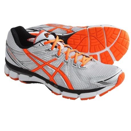 Asics GT-2000 Running Shoes (For Men) in White/Orange/Lightning