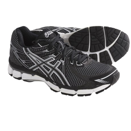 Asics GT-2000 Running Shoes (For Women) in Black/Onyx/White