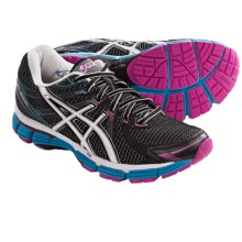 Asics GT-2000 Running Shoes (For Women) in Black/White/Electric Blue - Closeouts