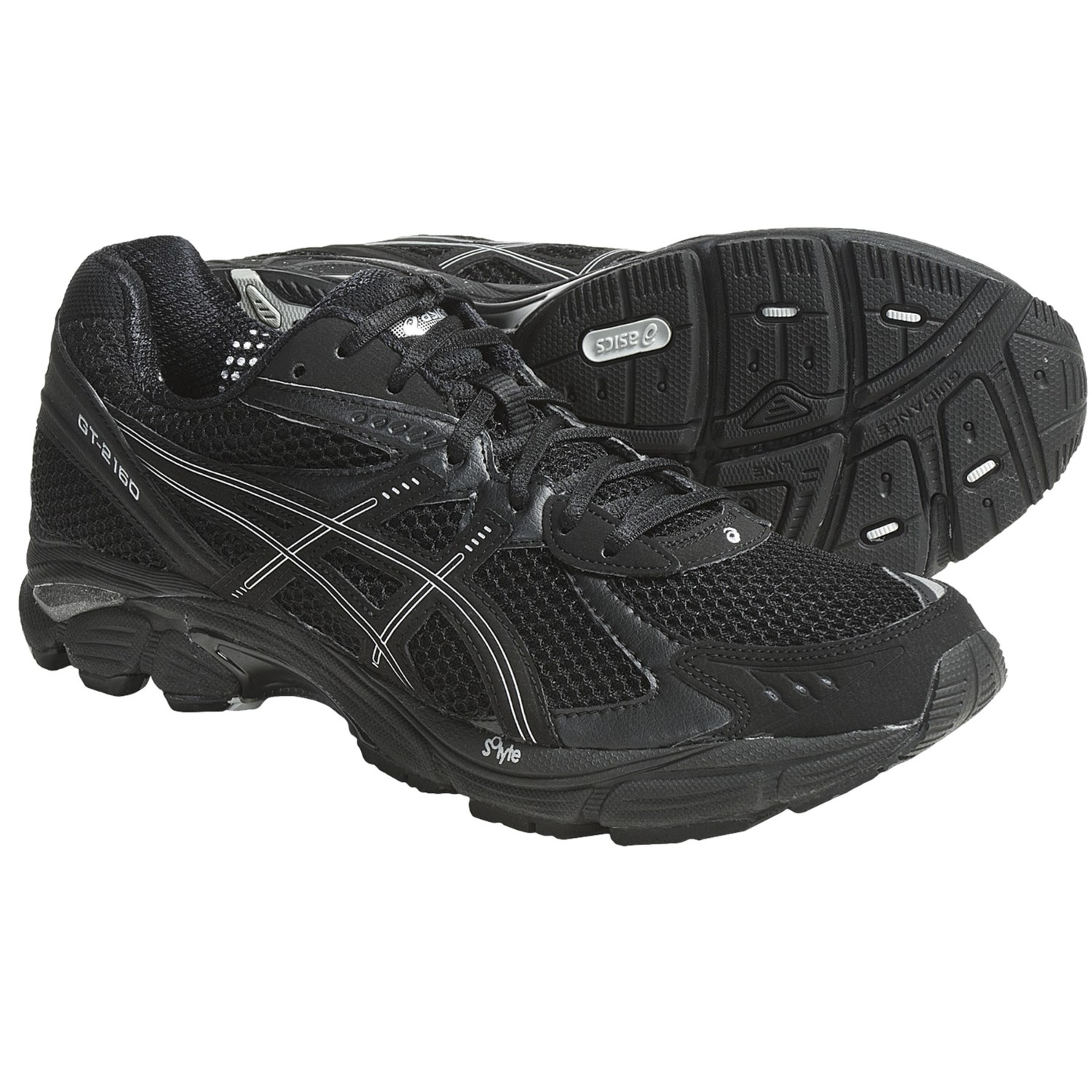 Asics GT-2160 Running Shoes (For Men) in Black/Onyx/Lightning