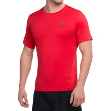 ASICS High-Performance T-Shirt - Short Sleeve (For Men) in True Red - Closeouts