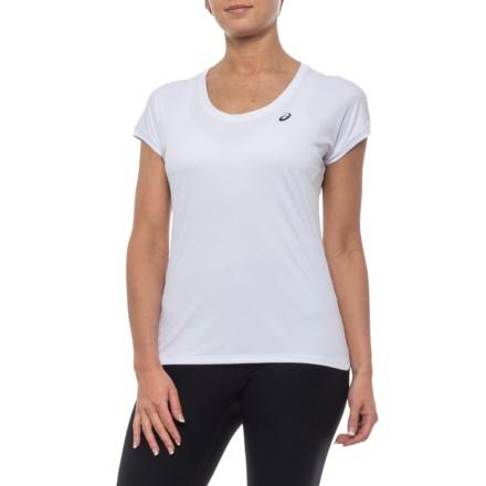 07acc9e2152 ASICS Lightweight Shirt - Short Sleeve (For Women) in White