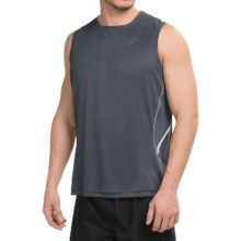 ASICS Lite-Show Tank Top (For Men) in Dark Grey - Closeouts
