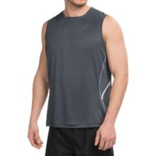 ASICS Lite-Show Tank Top (For Men) in Dark Grey - Closeouts