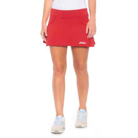 ASICS Love Tennis Skort (For Women) in Red - Closeouts