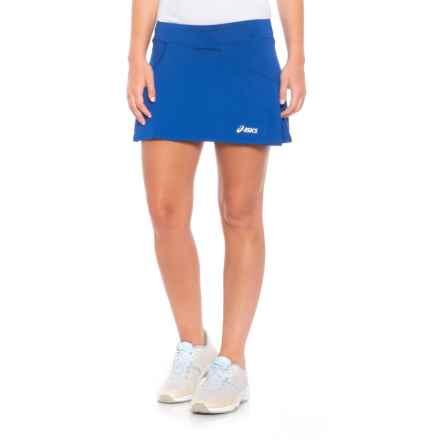 ASICS Love Tennis Skort (For Women) in Royal - Closeouts