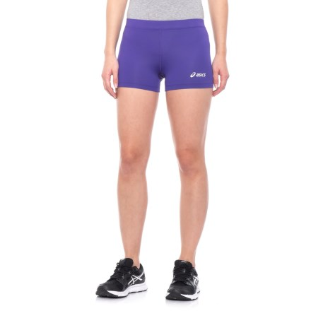031d92a968f3 ASICS Low-Cut Performance Shorts (For Women) in Purple - Closeouts