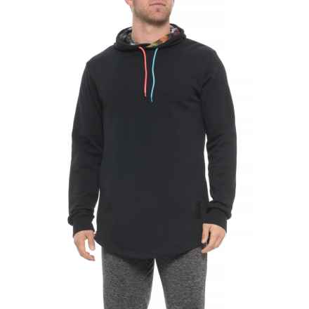 807a9f42dbaff ASICS NT Hoodie Sweatshirt (For Men) in Performance Black - Closeouts